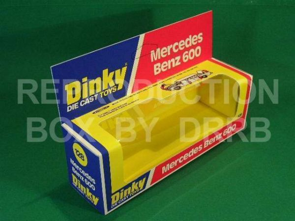 Dinky #128 Mercedes Benz 600 - Reproduction Box